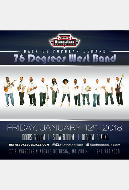 76 Degrees West flyer