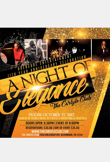Night of Elegance flyer
